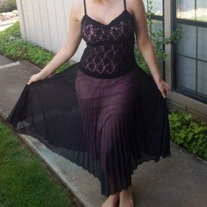 Retro evening dress